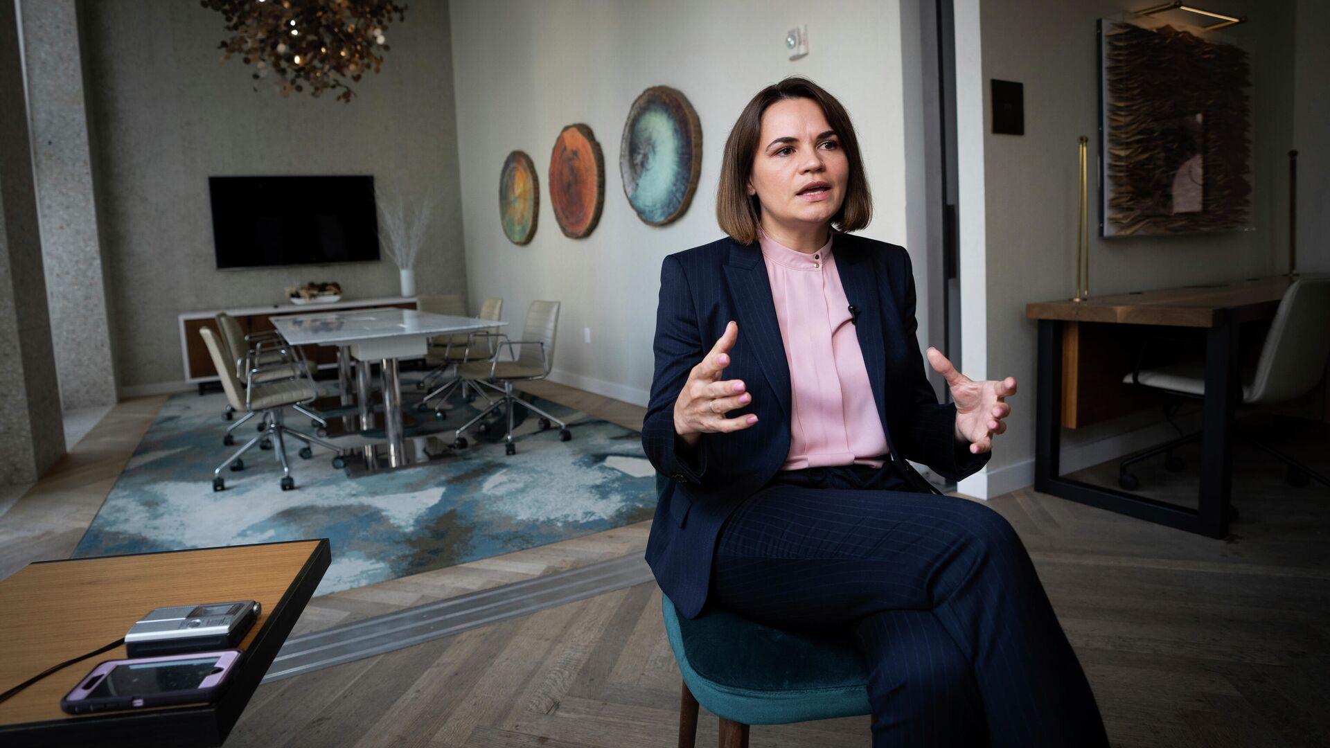 Тихановская заявила, что на нее возложили слишком большую ответственность