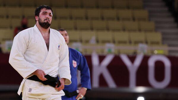 Нияз Ильясов после победы в матче за бронзу Олимпийских игр