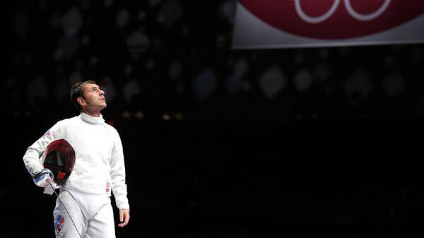 Олимпиада-2020. Фехтование. Мужчины. Шпага. Командное первенство