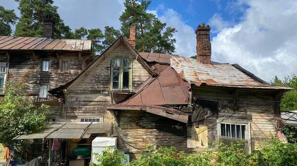 Частичное обрушение объекта культурного наследия федерального значения Дача Кривдиной