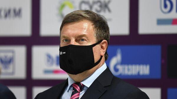 Президент Всероссийской федерации плавания Владимир Сальников