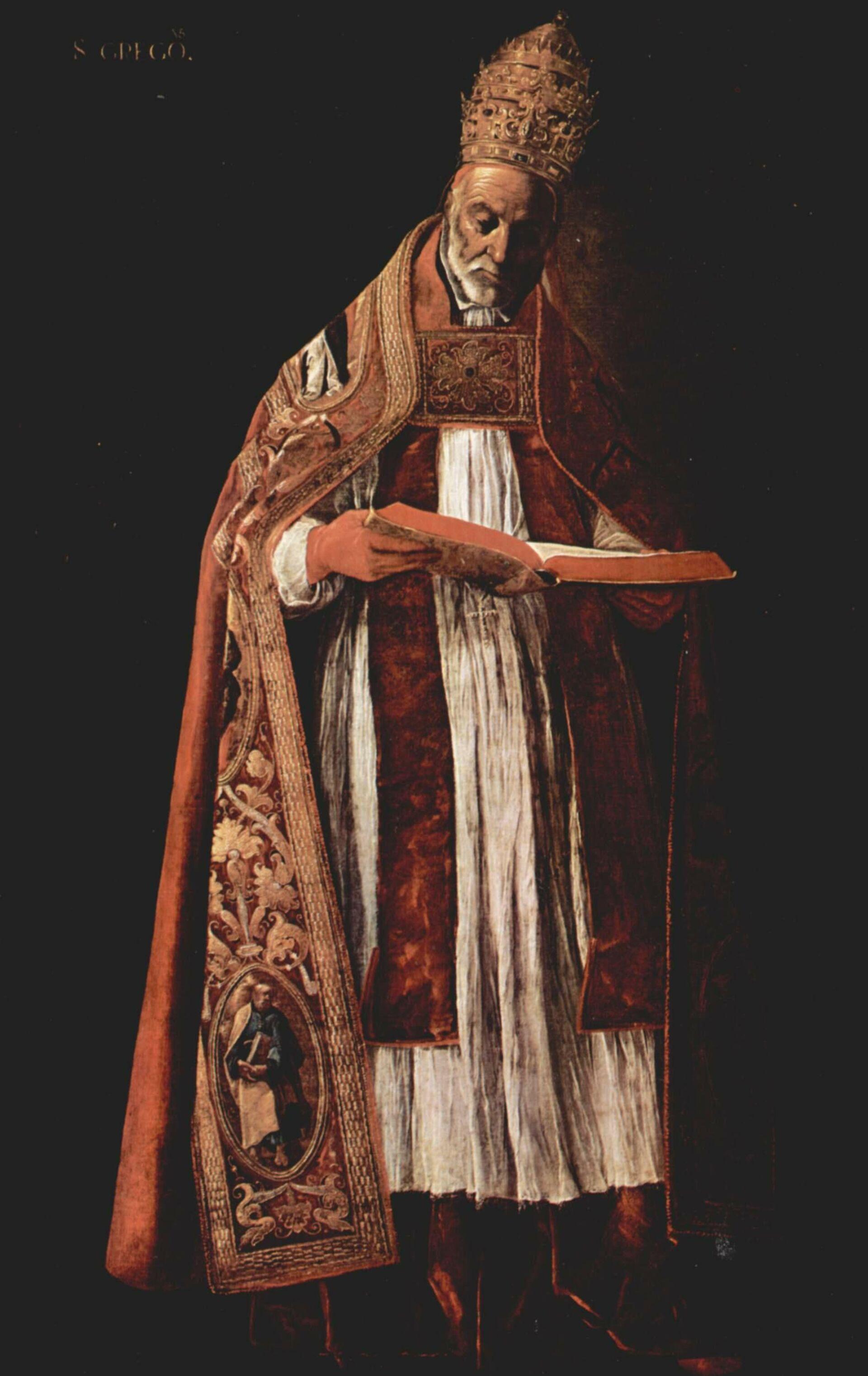 Картина де Сурбарана Папа римский Григорий I - ПРОФИ Новости, 1920, 03.08.2021