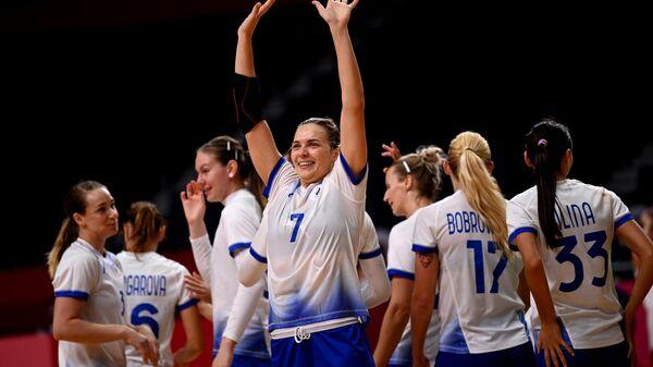 Олимпиада-2020. Гандбол. Женщины. Матч Черногория - Россия