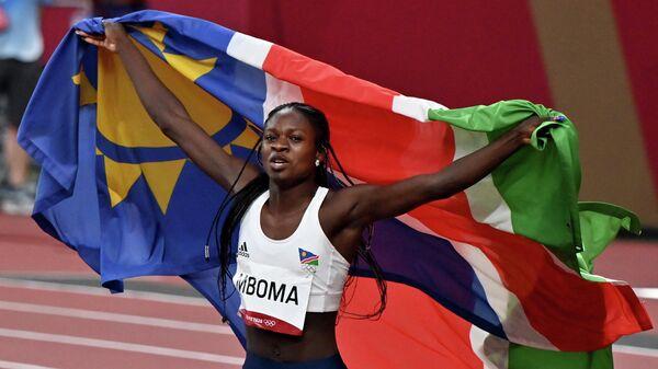 18-летняя спортсменка из Намибии Кристин Мбома