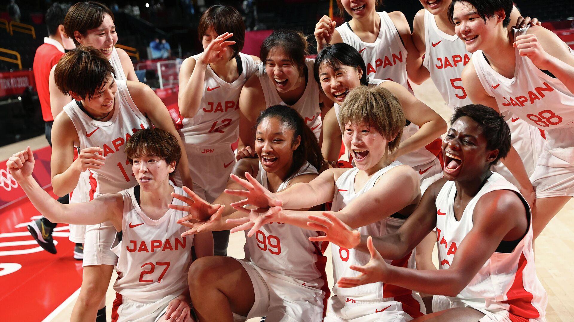 Японские баскетболистки - РИА Новости, 1920, 04.08.2021