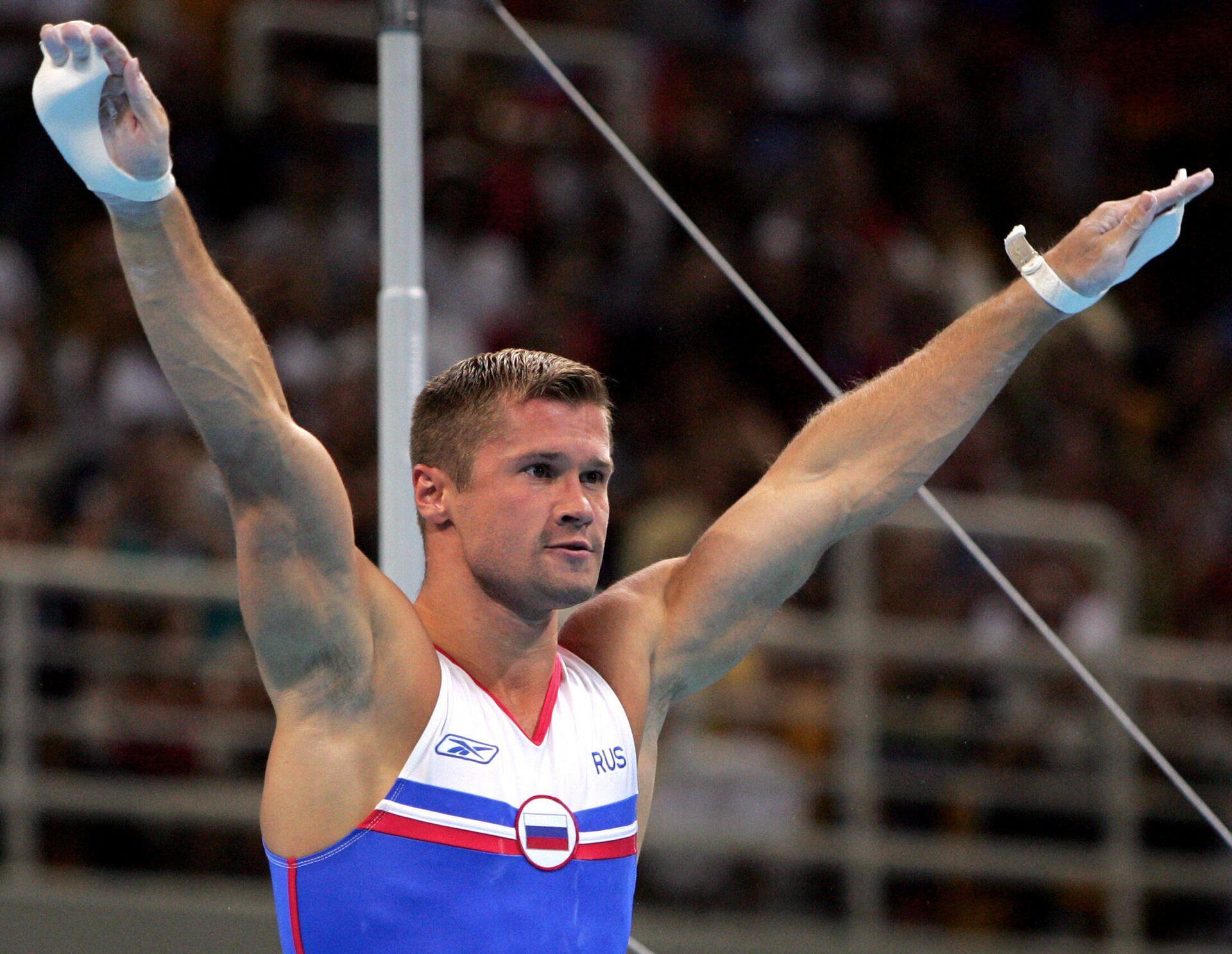 Алексей Немов на Олимпиаде 2004 года в Афинах - РИА Новости, 1920, 05.08.2021