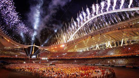 Церемония закрытия Олимпийских игр 2004 года в Афинах
