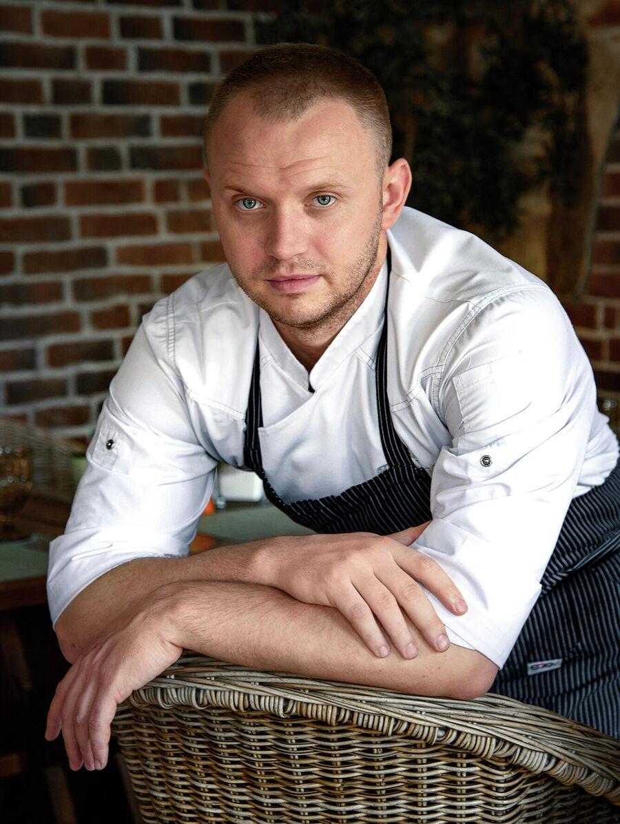 Шеф-повар итальянского ресторана в Москве Анатолий Малышев