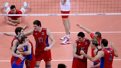Сборная России по волейболу на Олимпиаде в Лондоне 2012 года