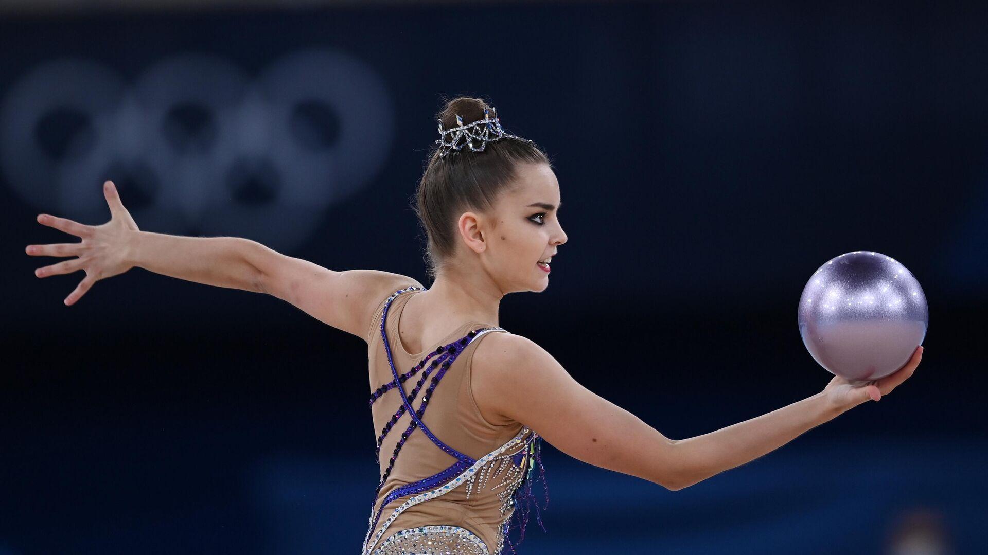 Олимпиада-2020. Художественная гимнастика. Индивидуальное многоборье - РИА Новости, 1920, 11.09.2021