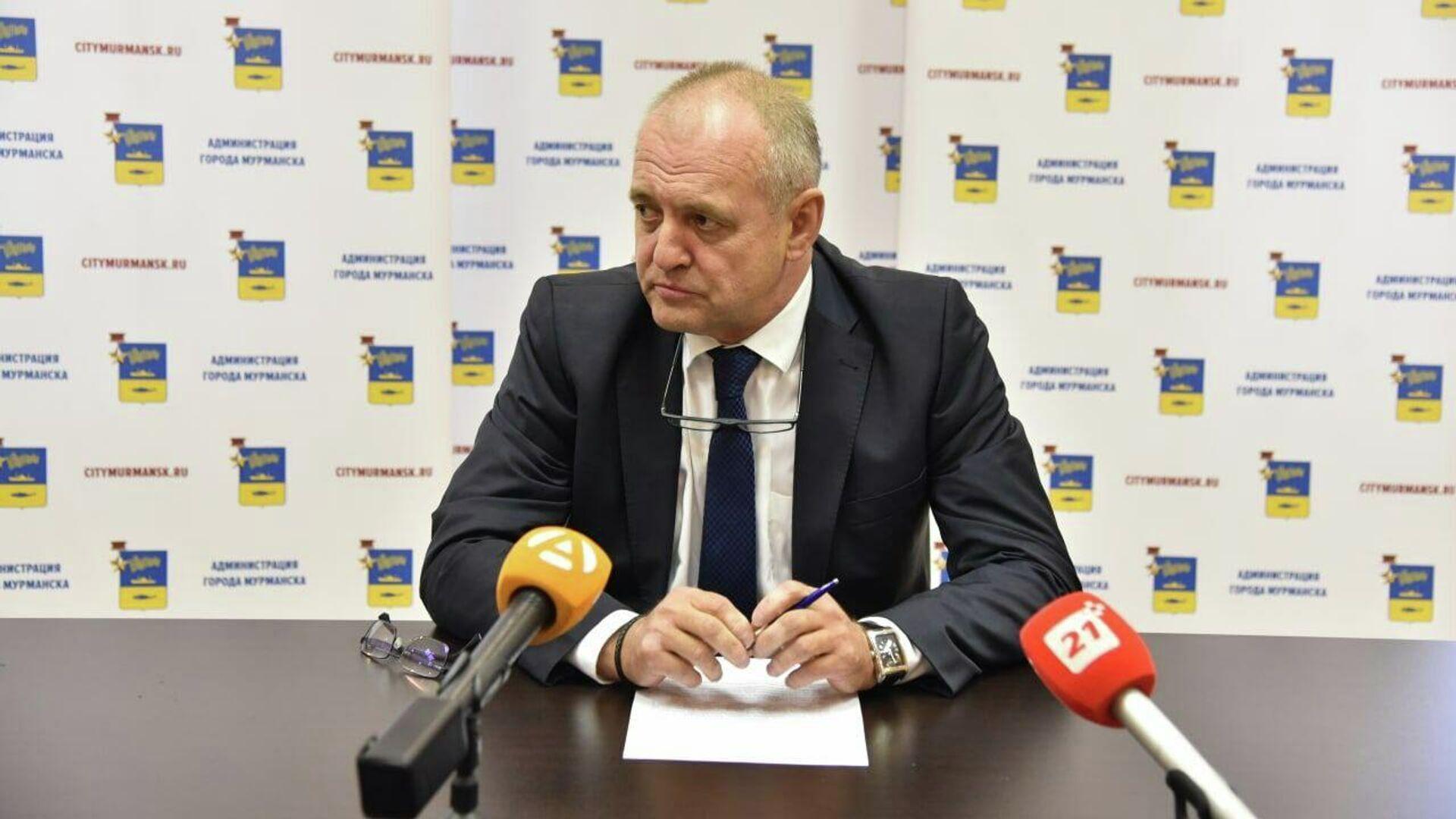Мэр Мурманска Андрей Сысоев уходит в отставку