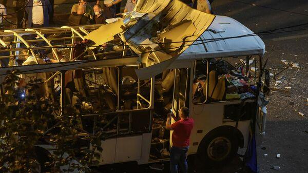 В Воронеже наградили жителей, спасавших людей после взрыва автобуса