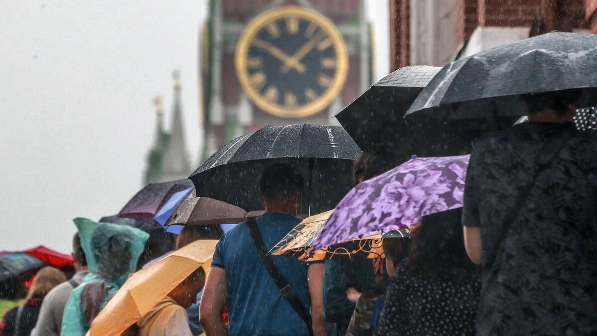 Москвичам рассказали, какая погода их ждет в понедельник