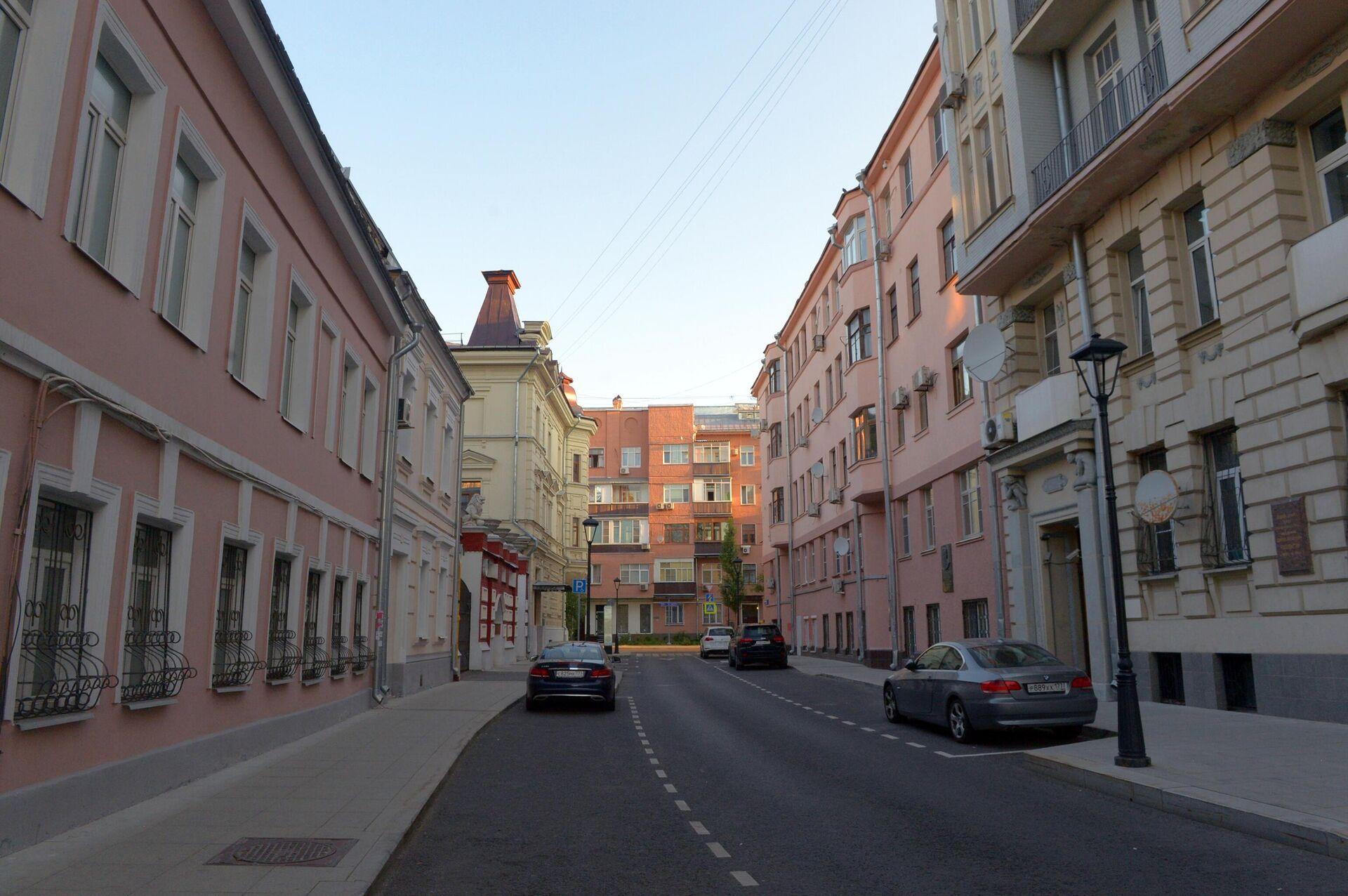 Дома на улице Чаплыгина в Москве - РИА Новости, 1920, 23.08.2021