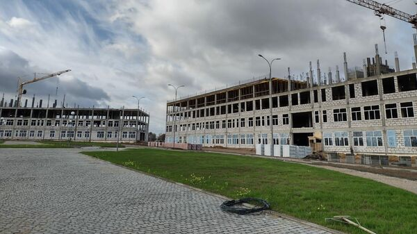 Строительство кампуса Калужского филиала МГТУ им. Н.Э. Баумана