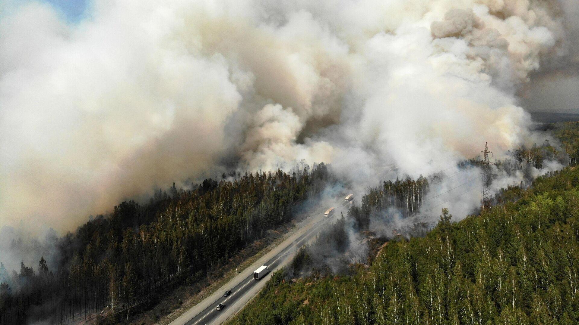 В Приангарье для тушения природных пожаров вызовут искусственные дожди