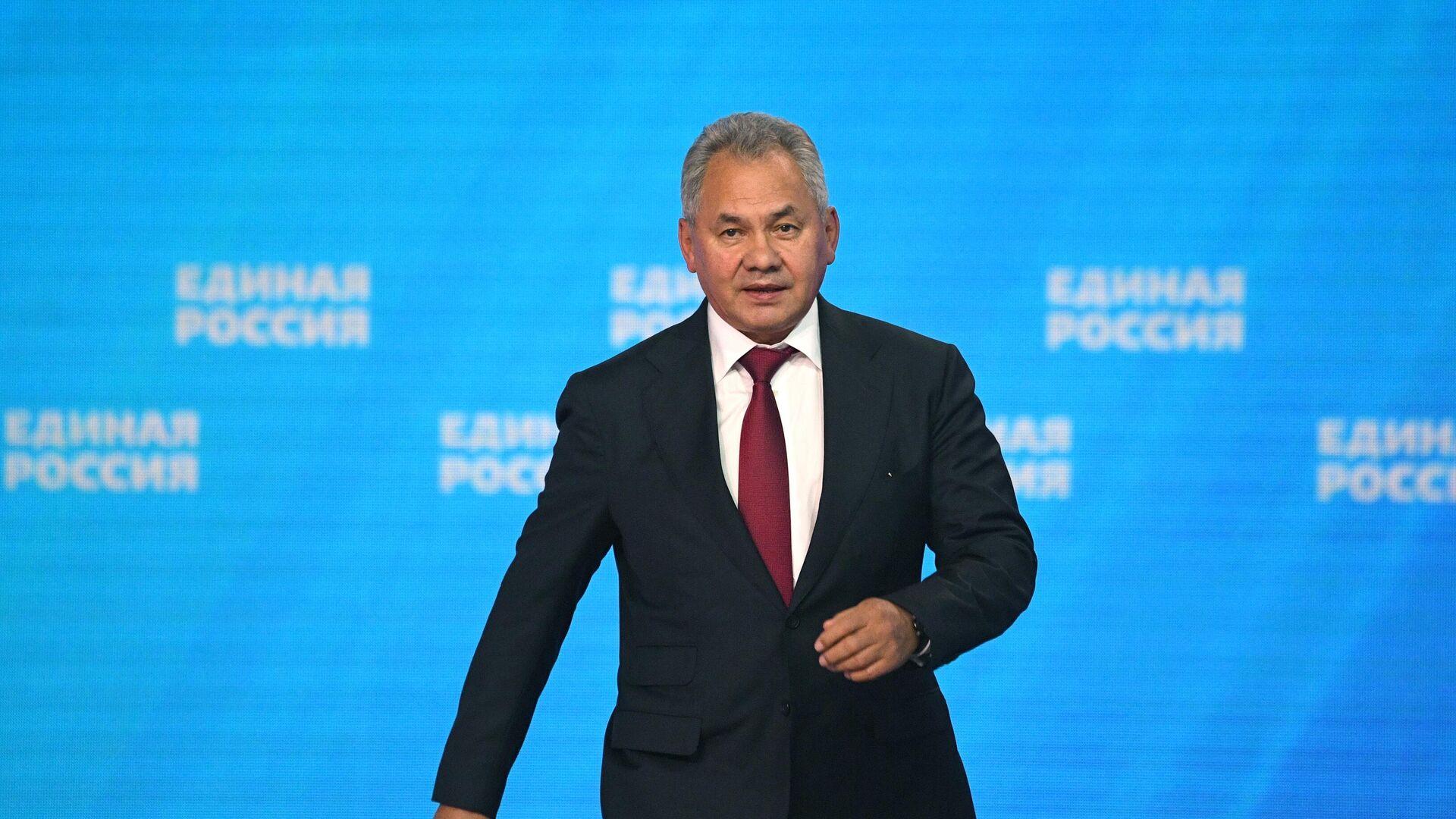 Шойгу заявил, что не видит угрозы для России со стороны Украины