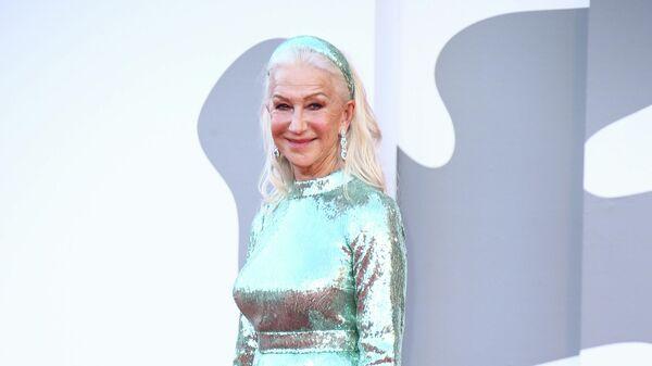 Актриса Хелен Миррен на 78-м Венецианском международном кинофестивале