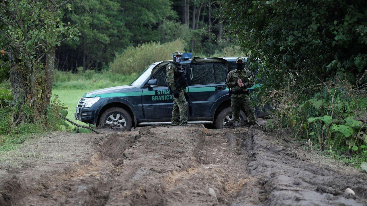 Польша ввела чрезвычайное положение на границе с Белоруссией
