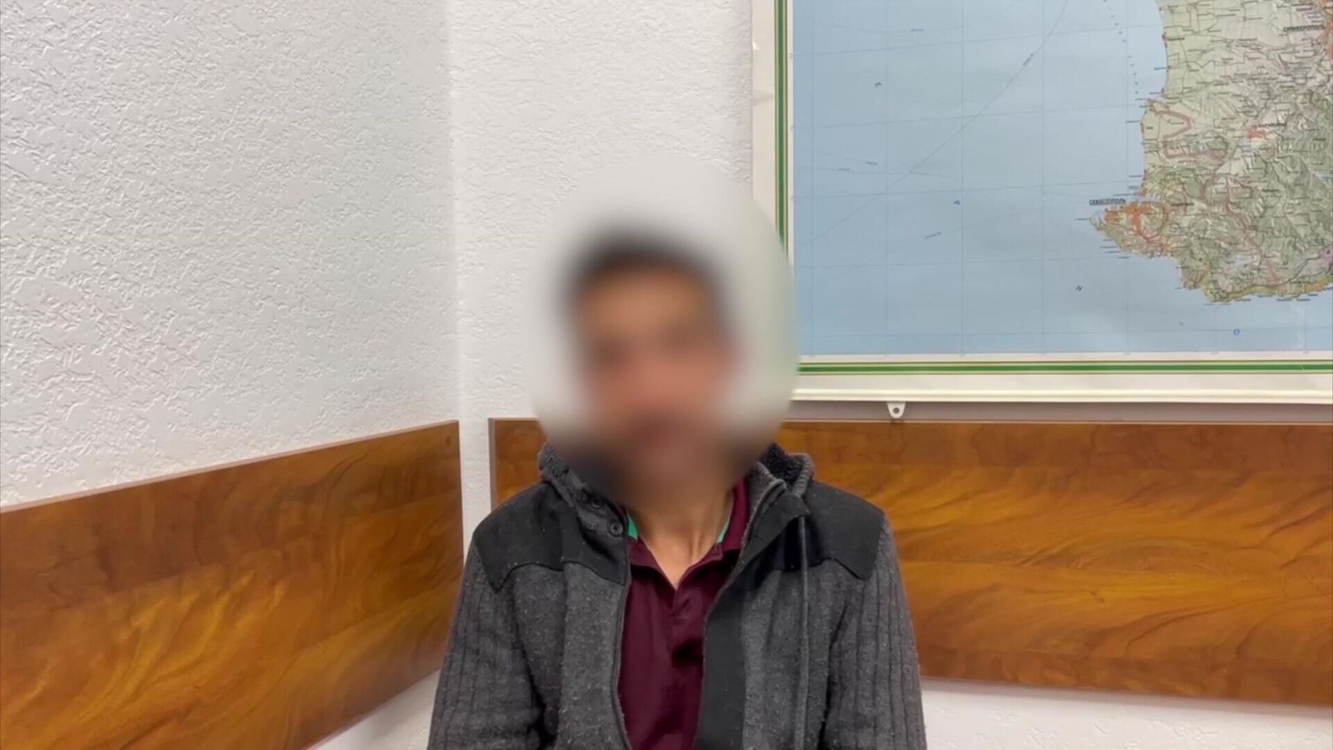 Житель Республики Крым Азиз Ахметов, задержанный в ходе оперативно-разыскных действий по подозрению в подрыве 23 августа 2021 года участка газопровода в Крыму - РИА Новости, 1920, 15.09.2021