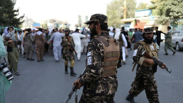 Антипакистанский протест в Кабуле