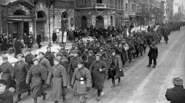 Войска Красной Армии в Будапеште