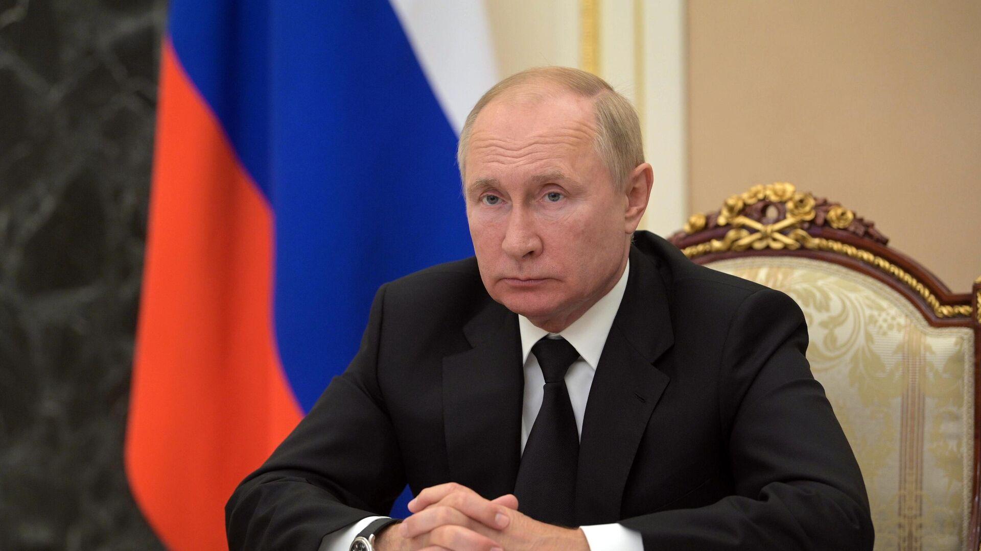 Президент РФ Владимир Путин - РИА Новости, 1920, 13.09.2021