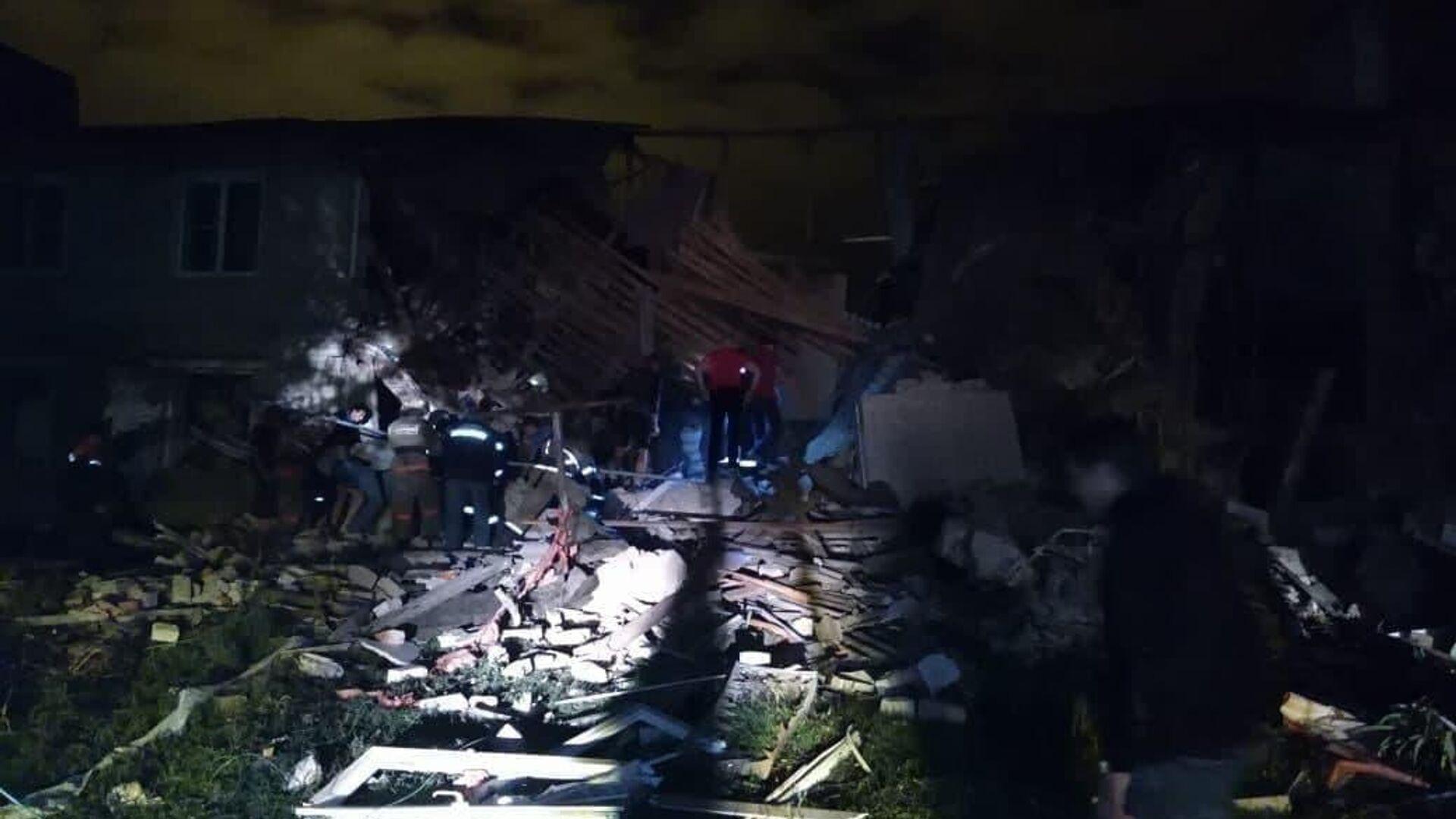 Очевидцы рассказали подробности о взрыве газа в Липецкой области
