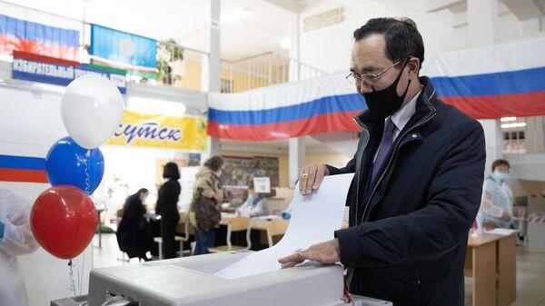 На Чукотке явка на выборы в Госдуму превысила 31 процент