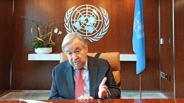 Генсек ООН о вакцинации участников Генассамблеи