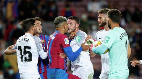 Футболисты Барселоны и Гранады
