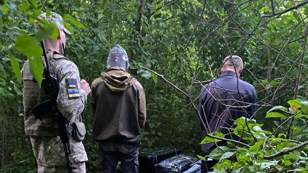 Пограничники пресекли попытку контрабанды табачных изделий в Польшу