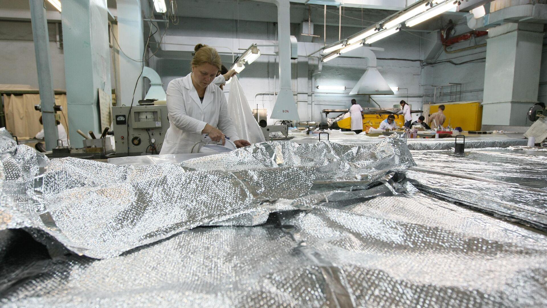 """В России стартовало производство первого спутника """"Скиф"""""""