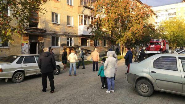Взрыв газа в жилом доме в Верхней Пышме под Екатеринбургом
