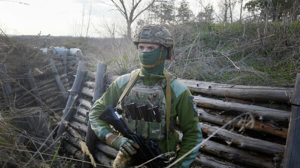 Военнослужащий армии Украины