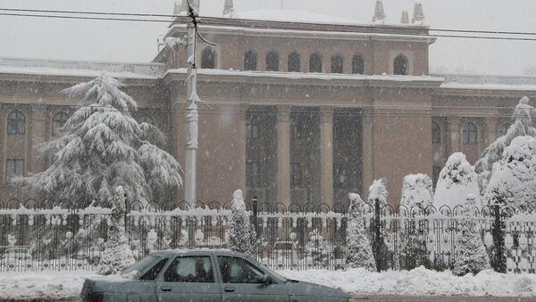 Ситуация в Таджикистане. Архивное фото