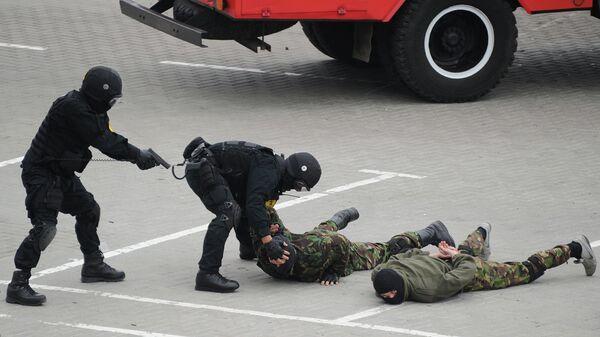 Бойцы спецслужб Украины