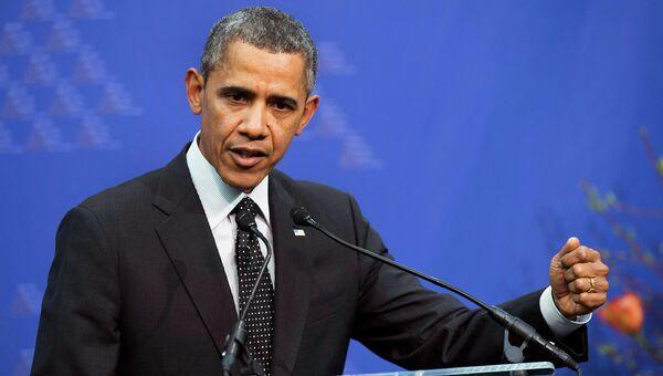 Выступление Обамы по итогам саммита по ядерной безопасности в Гааге