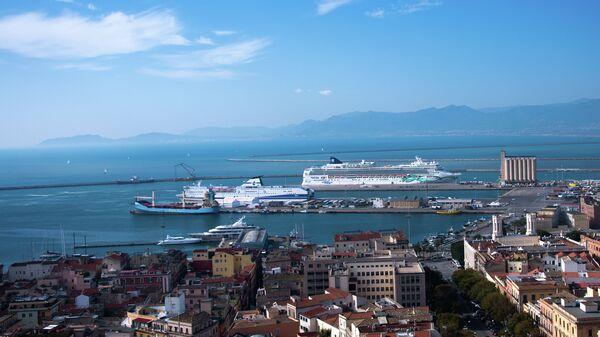 Город Кальяри (Сардиния). Архивное фото
