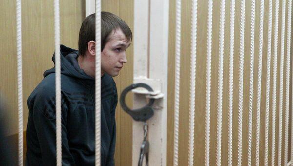 Суд над Николаем Ковалевичем, предполагаемым убийцей томской студентки, архивное фото