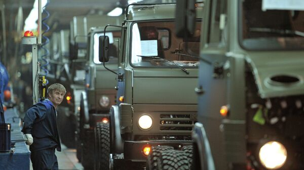 Автомобильный завод ОАО КАМАЗ