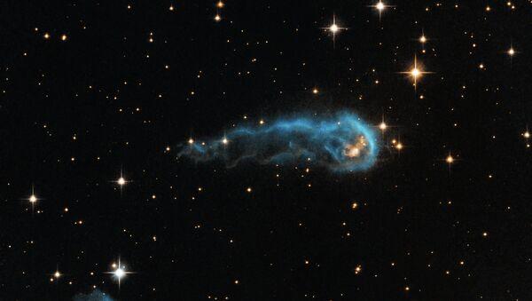 Межзвездное облако в созвездии Лебедя