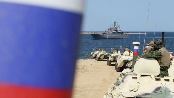 Черноморский флот РФ в бухте Севастополя. Архивное фото