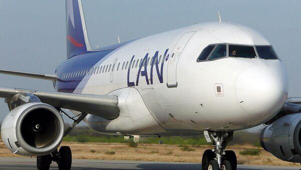 Самолет чилийской авиакомании LAN