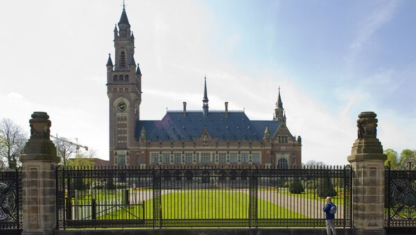 Здание Международного арбитражного суда в Гааге. Архивное фото