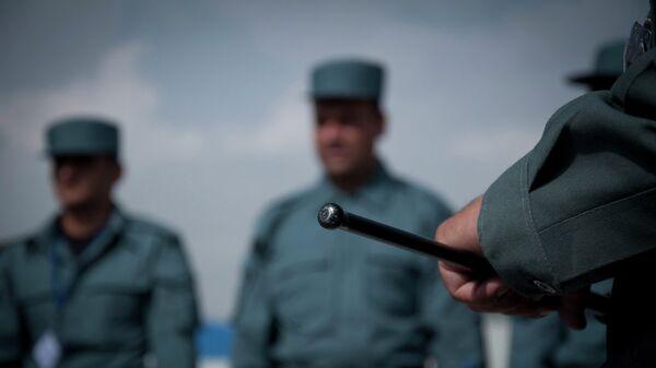 Сотрудники полиции Афганистана