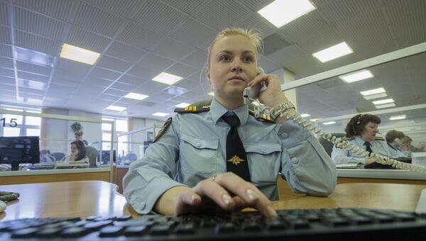 Сотрудница службы 02 ГУ МВД по г. Москве