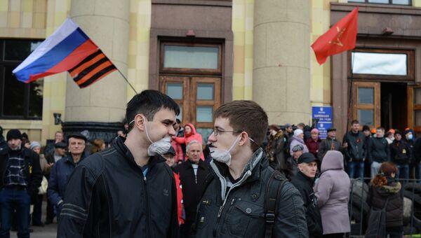 Ситуация в Харькове, архивное фото