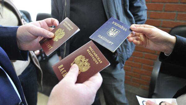 Климкин призвал украинцев сдать российские паспорта - РИА Новости ... 585aa881cc9