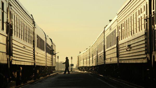 Рейс поезда. Архивное фото